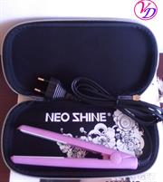Casey NeoShine Mini Hair Straightener - Ceramic Plates, Travel Pack, High heat, Fast heat-up, High heat delivers salon results, Fits in your handbag, the ultimate travel accessory, Heat: 140-180 degrees, Retail Box, Gentle on hair, 6 Months Warranty