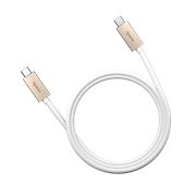 Apacer DC120 USB 3.1 Type-C to Type-C Cable - White, Retail Box, No Warranty
