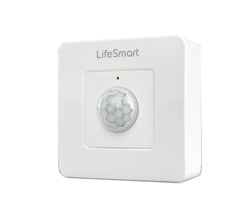 Lifesmart Motion/Illumination Sensor(Large) 3-4m Range - 2 x AAA battery - White