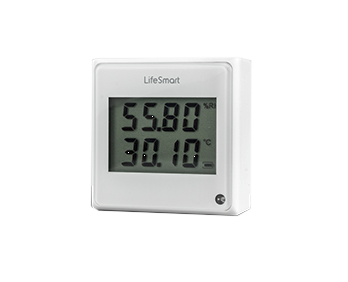 Lifesmart Cube Environmental Sensor Illumination|Humidity (5 to 90%)|Temperature (-20 to 40 Degrees) - CR2450 Battery - White