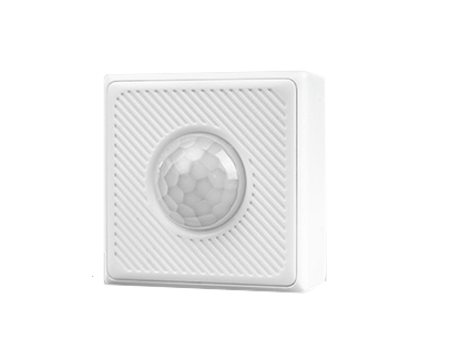 Lifesmart Cube Motion Sensor (Small) 3-4m Range|120Degree Cone - CR2450 Battery - White