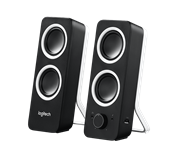 Logitech Z200 Computer Stereo Speakers with Bass Control, Retail Box , 1 year Limited Warranty