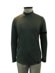 Long Sleeve Merino Mock