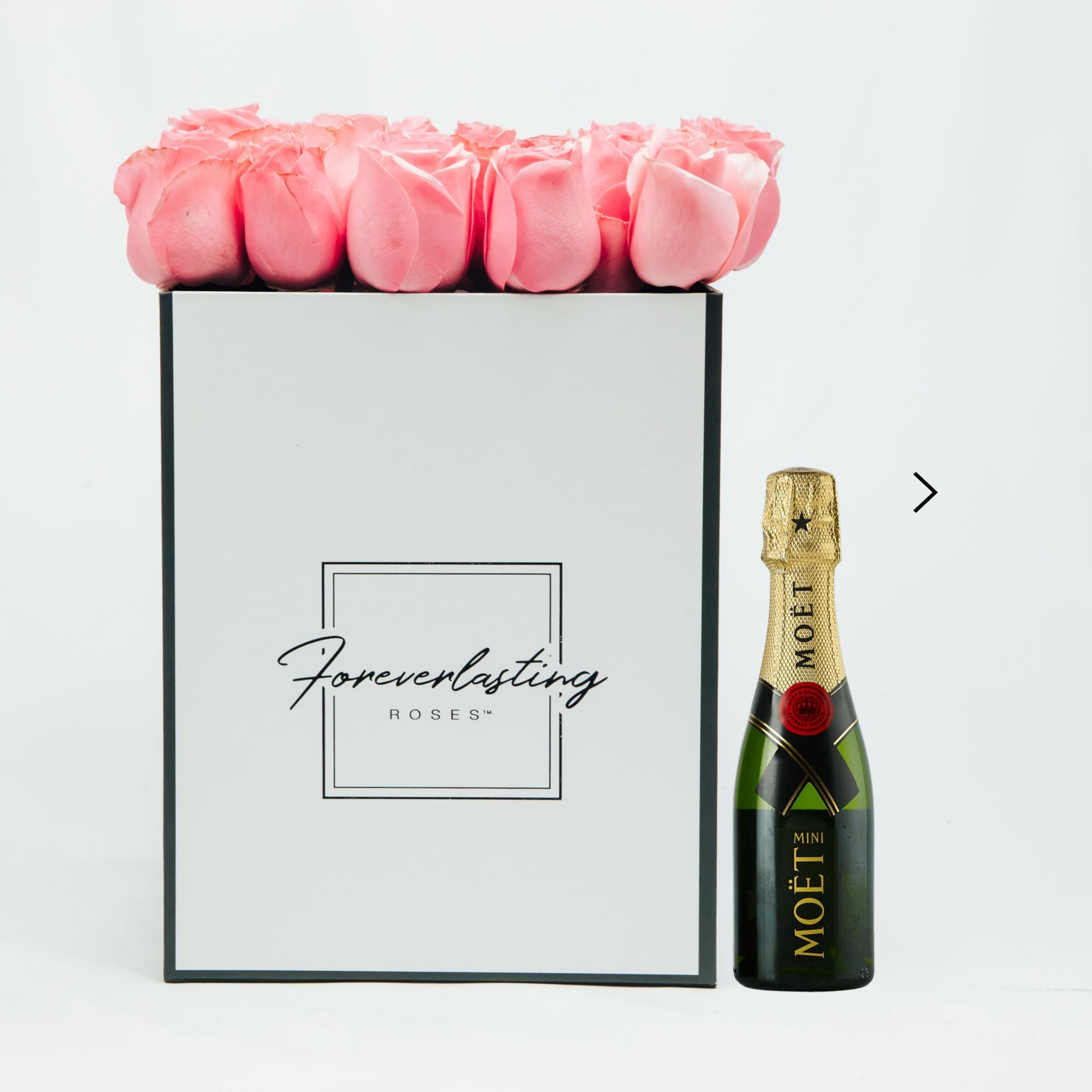 """Love Story"" Box (Pink) - red roses, roses that last 1 yr, roses that last a yr, roses that last one yr, roses that last a year, roses that last 1 year, roses that last one year, red roses, pink roses, white roses, luxury roses, luxury gift, luxury rose box, eternity roses, forever lasting roses"