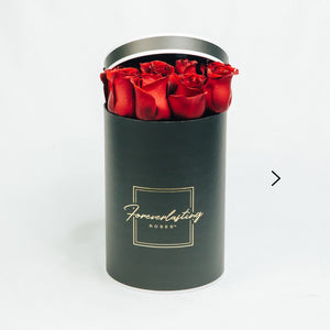 """Eternal Love"" Box (Red) - red roses, roses that last 1 yr, roses that last a yr, roses that last one yr, roses that last a year, roses that last 1 year, roses that last one year, red roses, pink roses, white roses, luxury roses, luxury gift, luxury rose box, eternity roses, forever lasting roses"