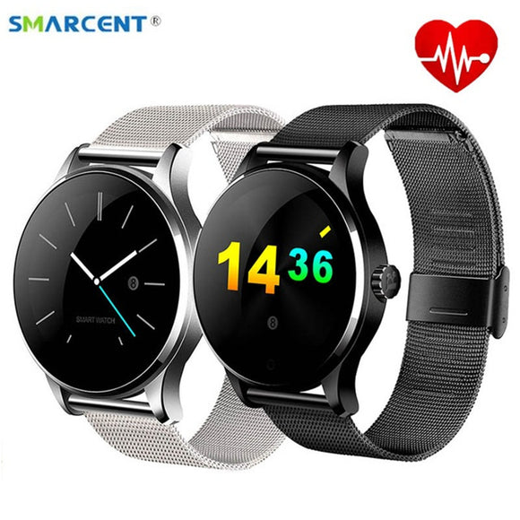 Smarcent K88H Smart Watch Track Wristwatch Bluetooth Heart Rate Monitor Pedometer Dialing Smartwatch