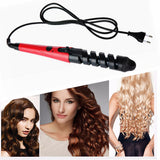 Magic Pro Hair Curlers Electric Ceramic Spiral Hair Iron Wand Salon Styling Tools Styler