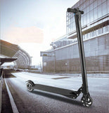 Electric lightest scooter in the world is made of aircraft-grade carbon fiber 8.8 Ah