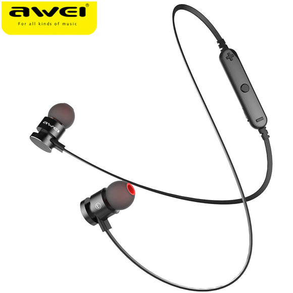 AWEI T11 Wireless Bluetooth Earphone For Phone Neckband Bluetooth V4.2