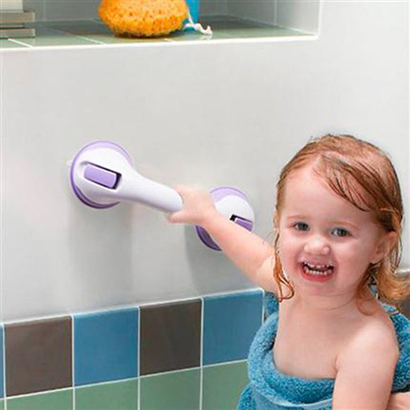 Zhangji Safety Helping Handle Anti Slip Support Toilet bathroom safe Grab Bar Handle Vacuum Sucker Suction Cup set