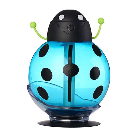 USB Beetle Humidifie - Aroma Diffuser Remove unfavorable odors and smells. Increase humidity of air, reducing dust and bacteria. Colors: Red, Blue, Yellow.
