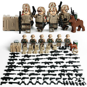 Lego US Marines Anti Terrorist Team Minifigures