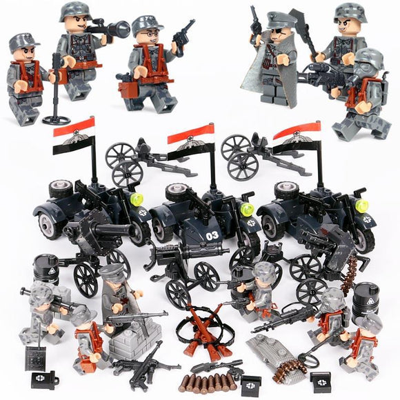 Lego German Soldiers WW2