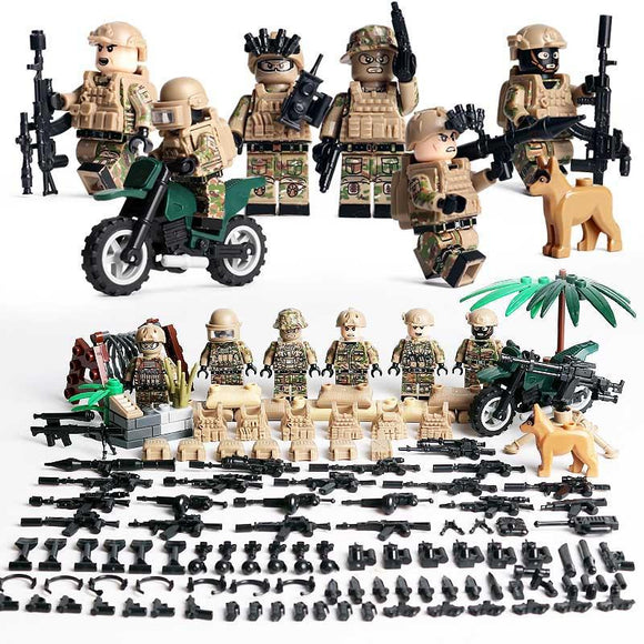 Lego US Navy Seal Desert Warfare