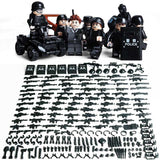 SWAT Soldiers 8-Pack with Bike Quad & Weapons