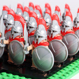 Spartan Soldiers Silver Legion Minifigures 21-Pack