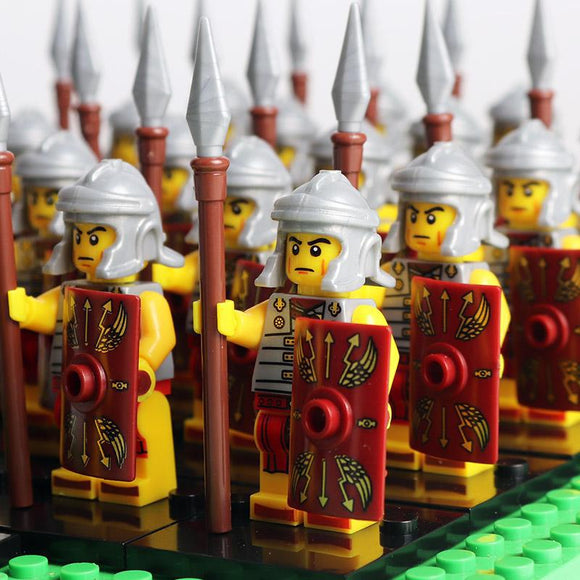 Roman Army Mercenaries Legion Minifigures 21-Pack