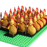 Spartan Soldiers Royal Legion Minifigures 21-Pack