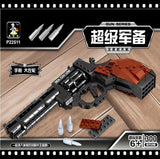 Magnum Revolver Pistol 300 Pieces - The Brick Armory