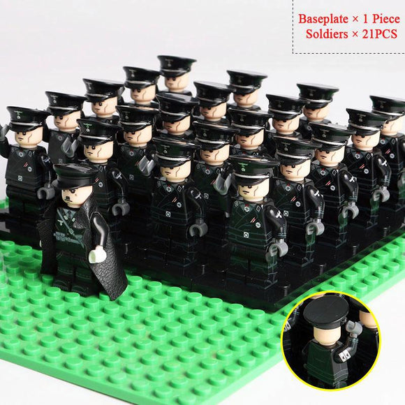 Lego German Officers WW2