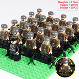 Lego German Soldiers Snipers Team WW2