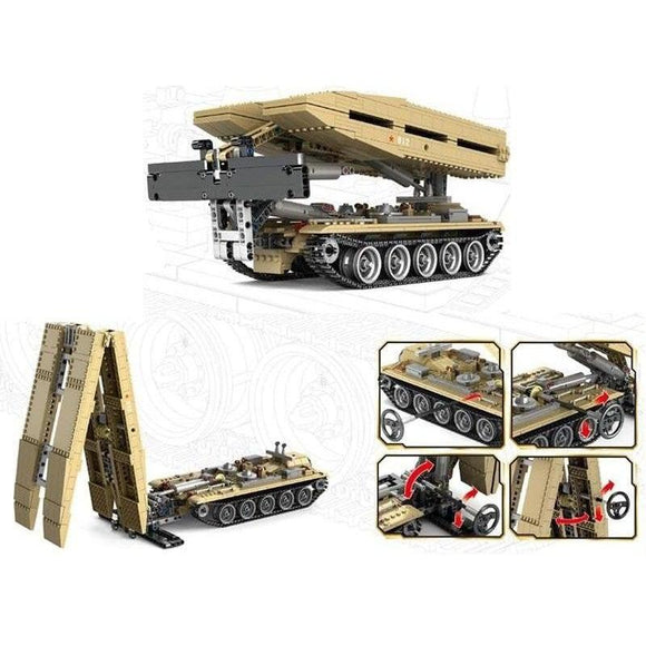 Tank bridge 1:30 scale 1155 pieces