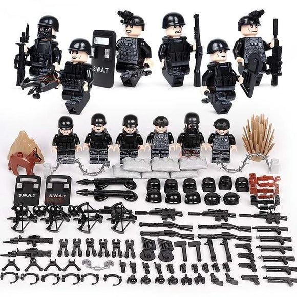 Lego SWAT Soldiers