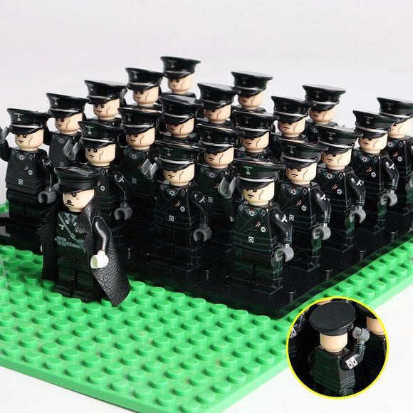 German Waffen SS Officers 21-Pack