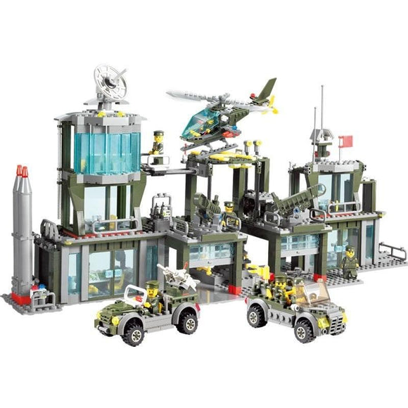 Lego Army Base Playset