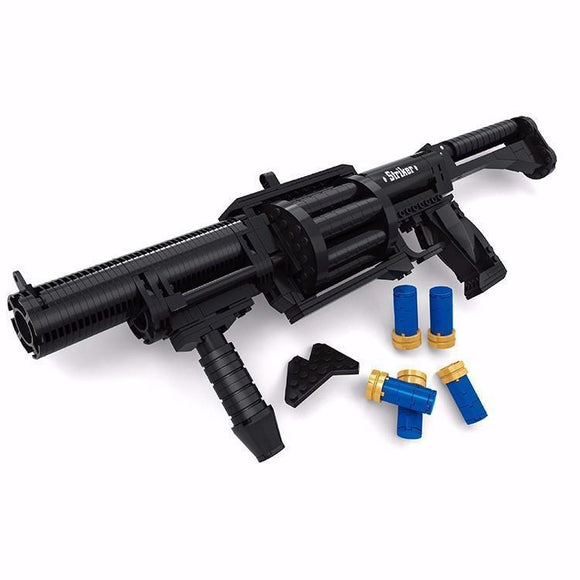 ICS-190 GLM Grenade Launcher 373 Pieces - The Brick Armory