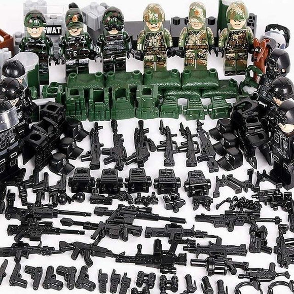 Lego Jungle Army