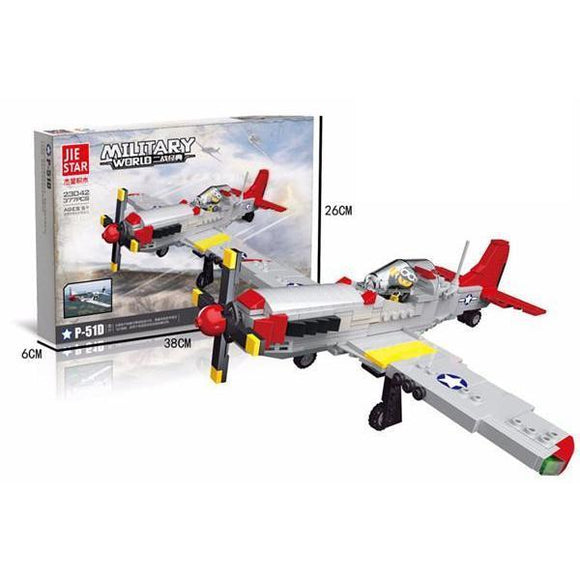 North American P-51D Mustang 377 Pieces