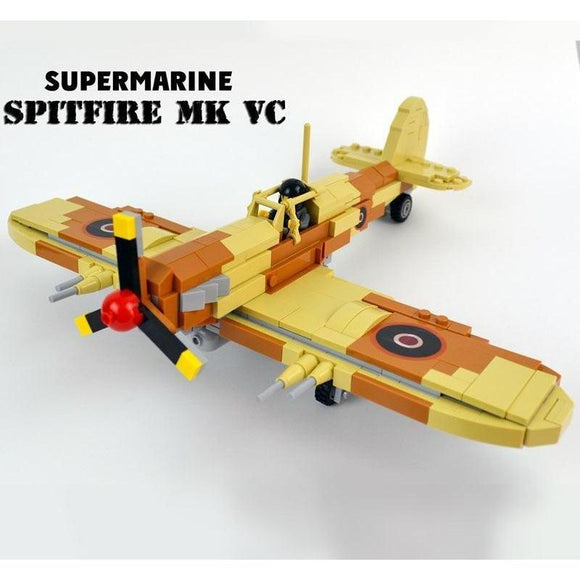 Lego Spitfire Supermarine Fighter