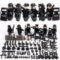 SWAT Soldiers 6-Pack with Weapons