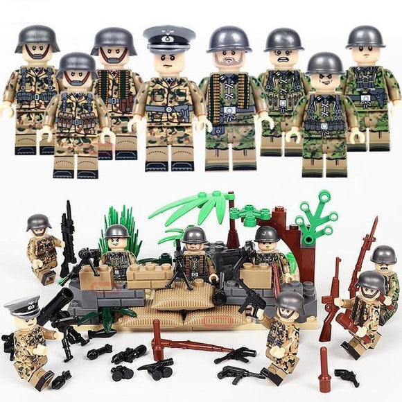Lego WW1 German Soldiers