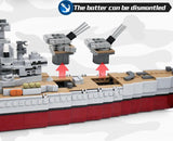 USS Missouri Battleship 2631 Pieces