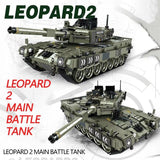 Leopard 2 Main Battle Tank 1747 Pieces 5 Minifigures
