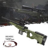 AWM Sniper Rifle 1491 Pieces 105cm