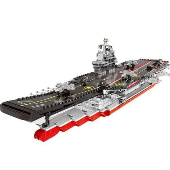 Lego Type 001A Aircraft Carrier