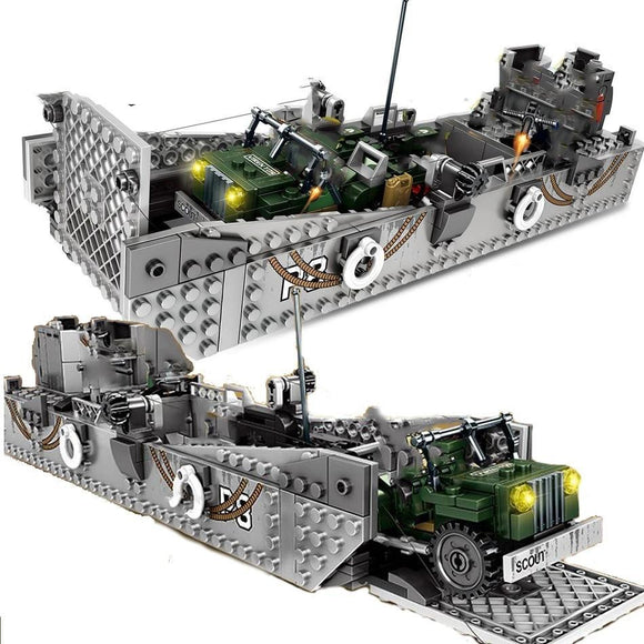 Lego D-Day LCM3 Landing Craft