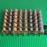 WW2 Soldiers Minifigures 48-Pack with Weapons - All Fighting Countries