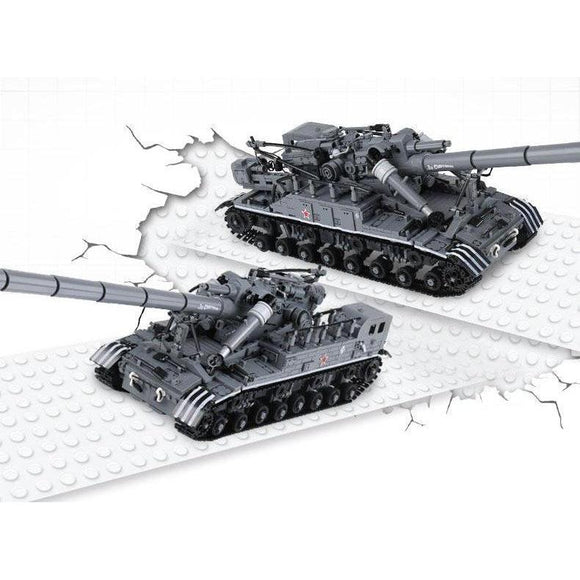 T-92 Tank 1832 Pieces - The Brick Armory