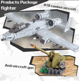 A10 Warthog - Fairchild Republic A-10 Thunderbolt II 961 Pieces 3 Minifigures