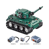 Remote Control Panzer Tank 313 Pieces with Controller