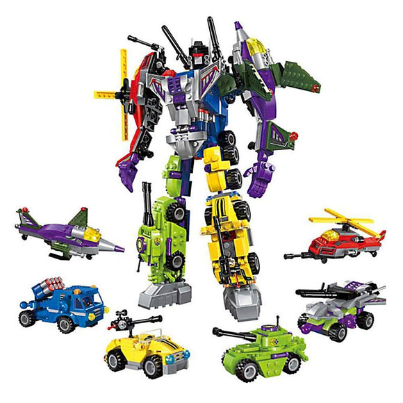 Compatible Lego Toy Transformers 6in1 MegaRobot