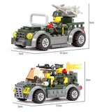 Army Base Playset 1001 Pieces 6 Minifigures