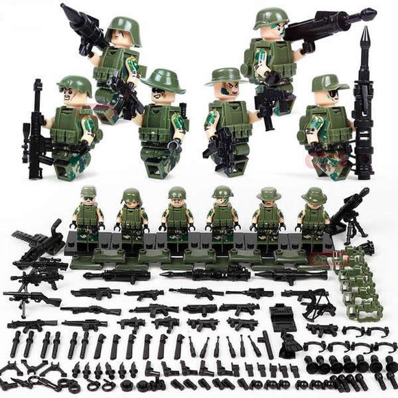 Lego US Soldiers