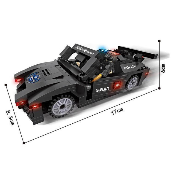 SWAT Muscle Car 277 Pieces