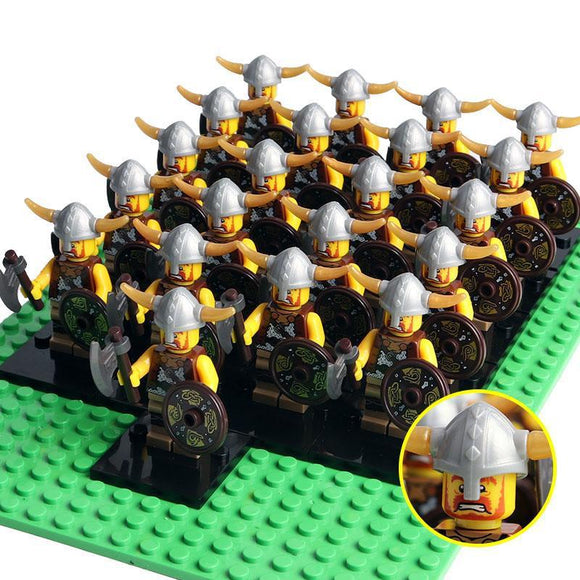 Vikings Army Minifigures 21-Pack