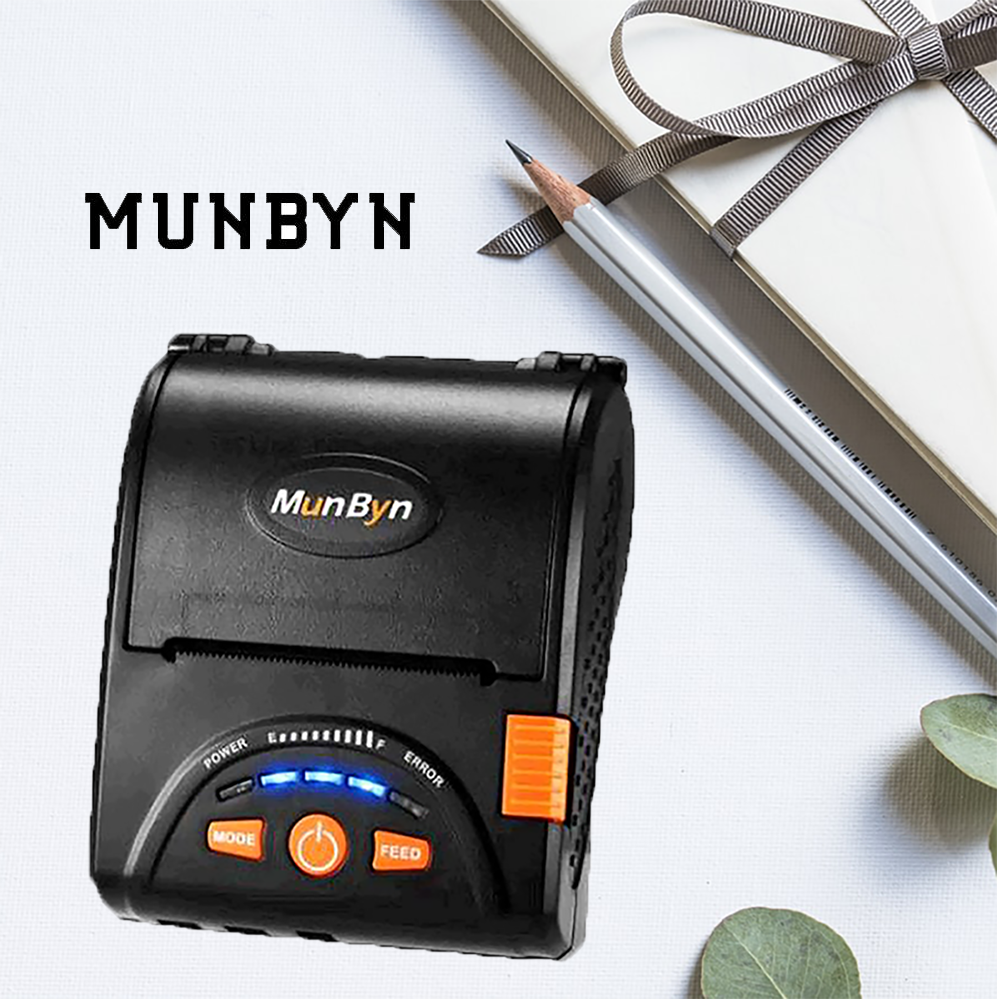 Bluetooth Thermal Receipt Printer-MUNBYN
